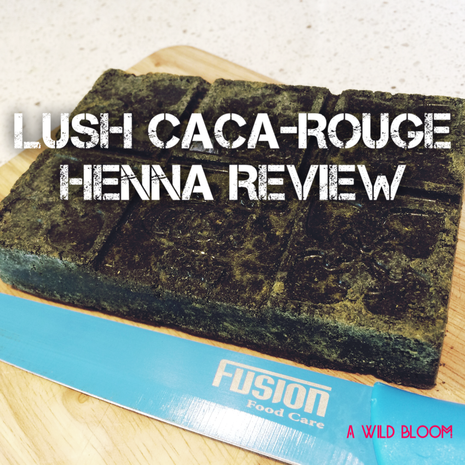Lush Caca Rouge Henna Review