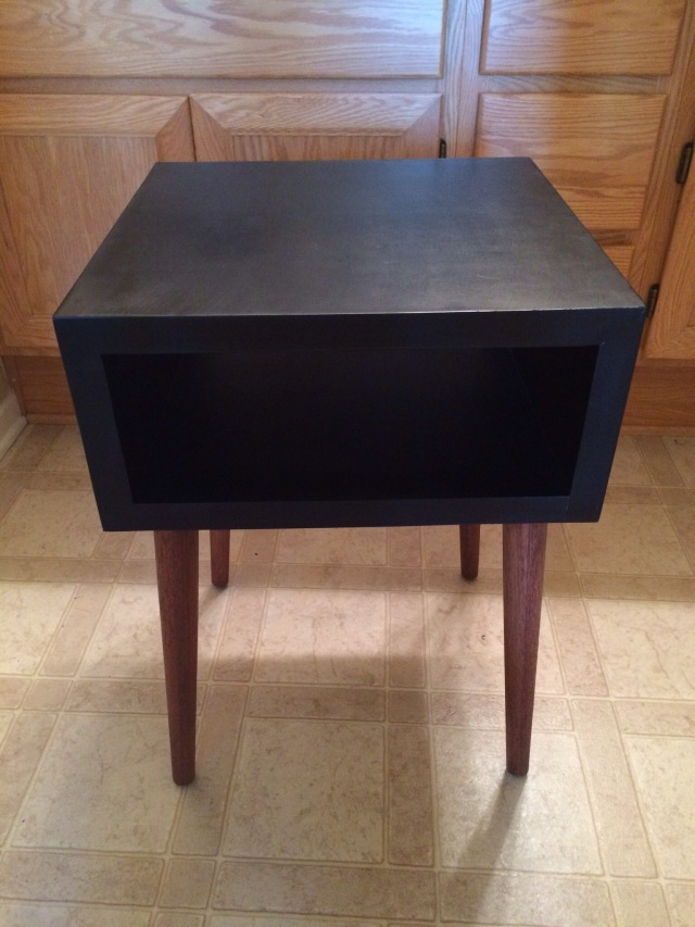 DIY Silver Leaf Nightstand What NOT To Do